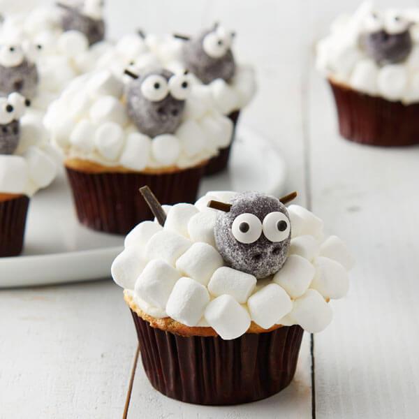 Lamb Cupcakes Image
