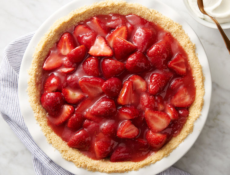 Fresh Strawberry Pie Recipe Land O Lakes