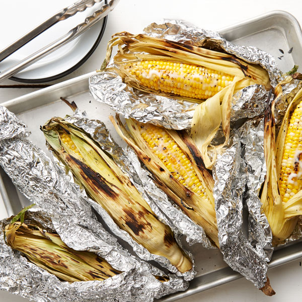 Grill Roasted Corn-On-The-Cob recipe