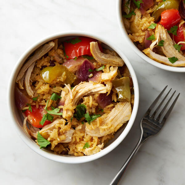 Instant Pot® Curried Chicken Bowl recipe