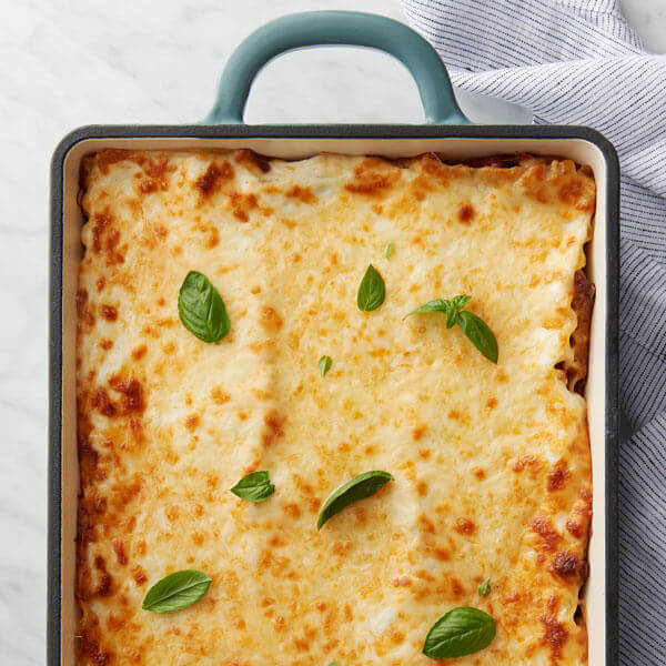 Red & White Sauce Lasagna