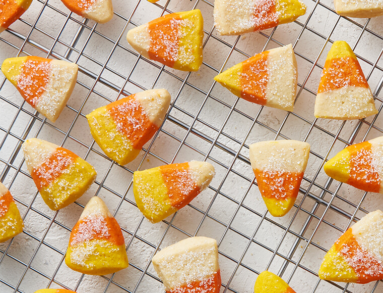 Sparkling Candy Corn Cookies (Gluten-Free Recipe) Recipe ...
