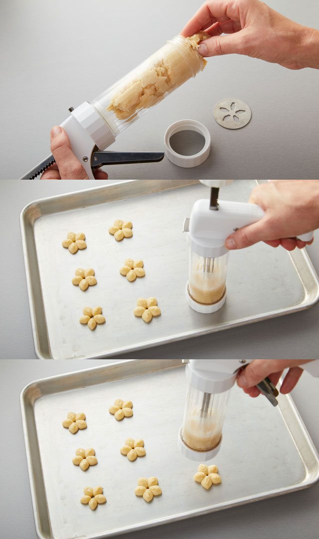 Using Cookie Press