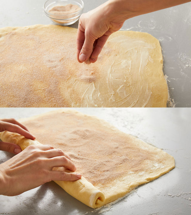 Filling and Rolling