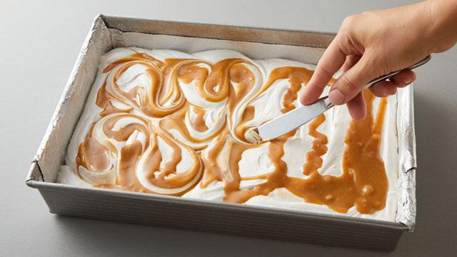 Swirling Caramel