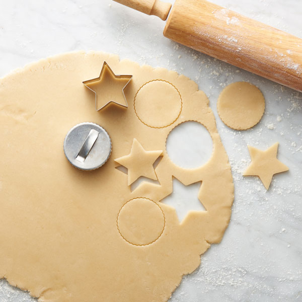 Easy Cut-Out Sugar Cookies Recipe