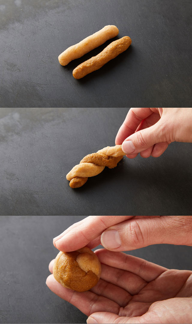 How To Twist Dough