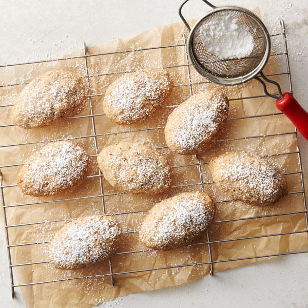 Hazelnut Browned Butter Spoon Cookies Recipe