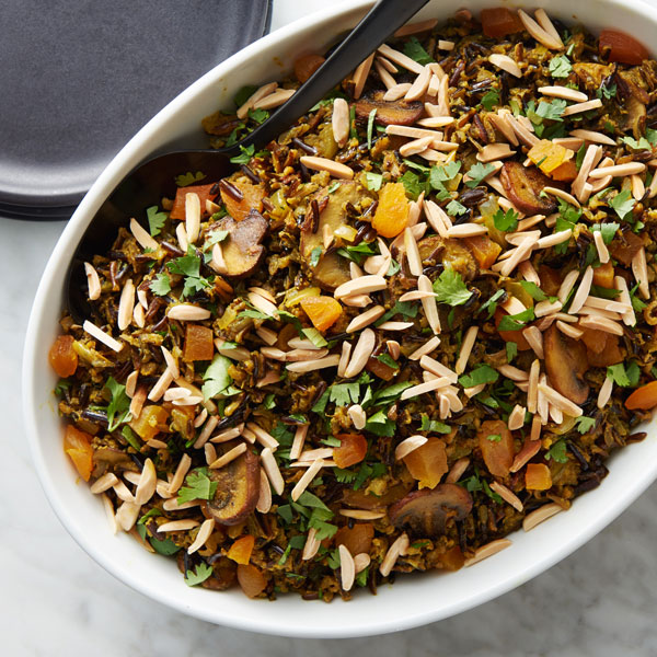 Moroccan Wild Rice and Mushrooms Recipe