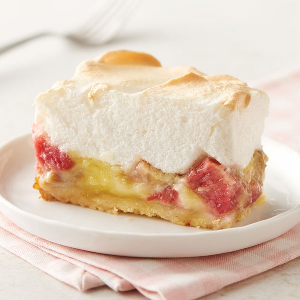 Aunt Emma's Rhubarb Custard Dessert recipe