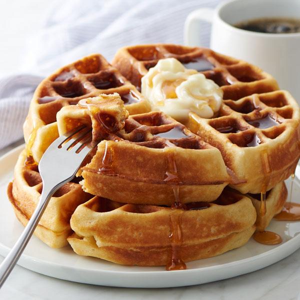 Belgian-Style Waffles recipe