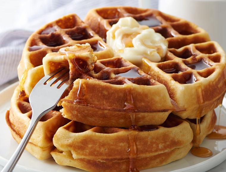 Belgian-Style Waffles Recipe | Land O'Lakes
