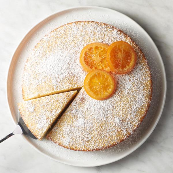 Zested Orange Cake recipe