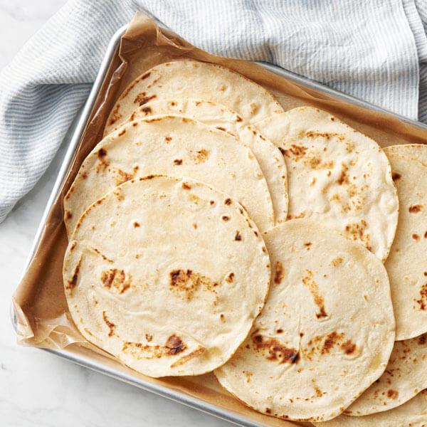 Easy Homemade Flour Tortillas recipe