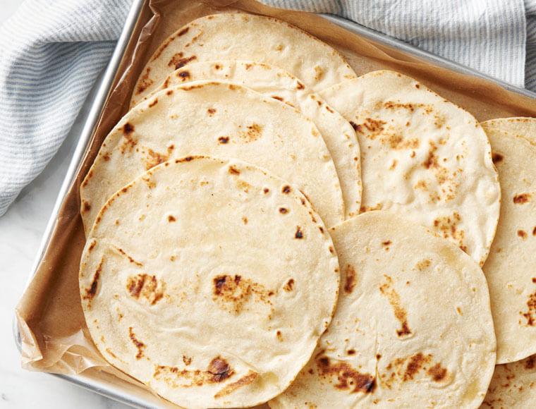 Easy Homemade Flour Tortillas Recipe Land O Lakes
