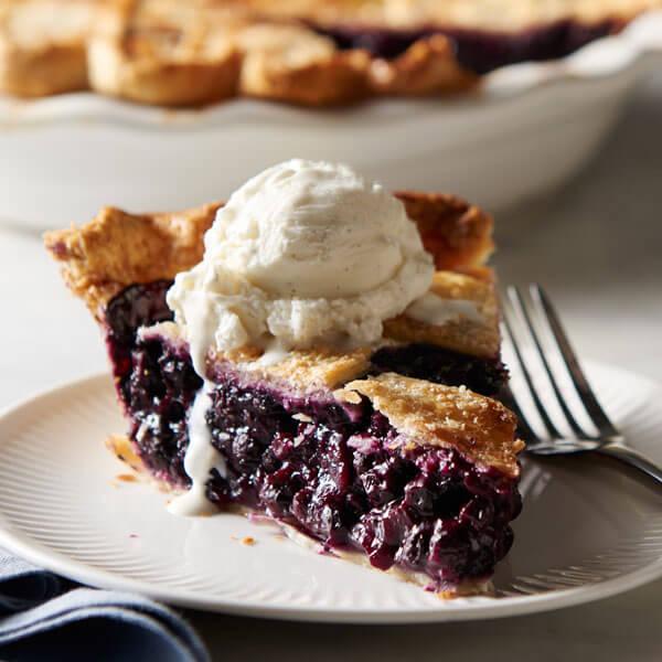 Best Ever Blueberry Pie recipe