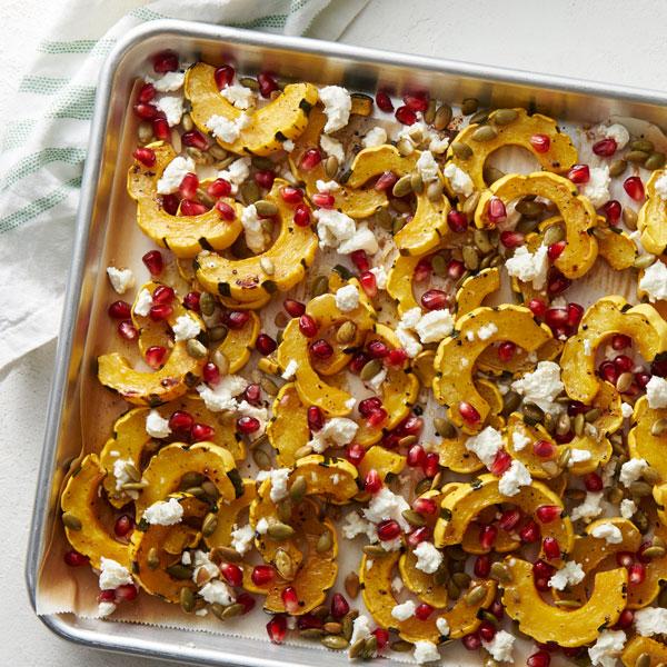 Roasted Fall Squash Salad recipe