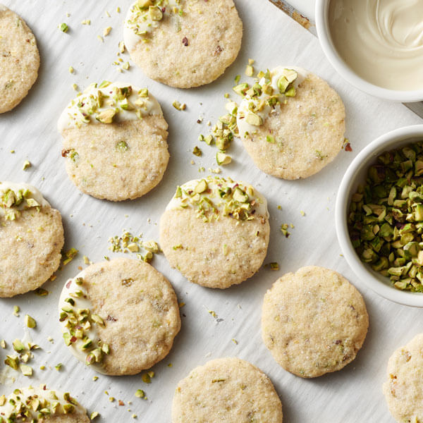 Brown Butter Pistachio Thins recipe