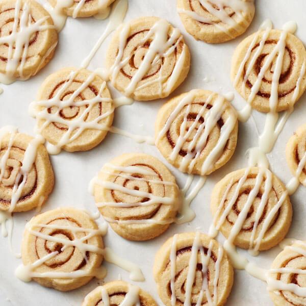 Cinnamon Roll Slice & Bake recipe