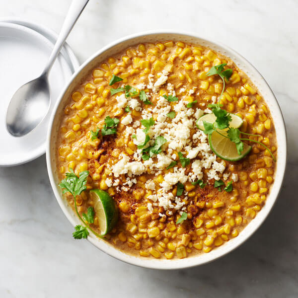 Elote Cream Corn recipe