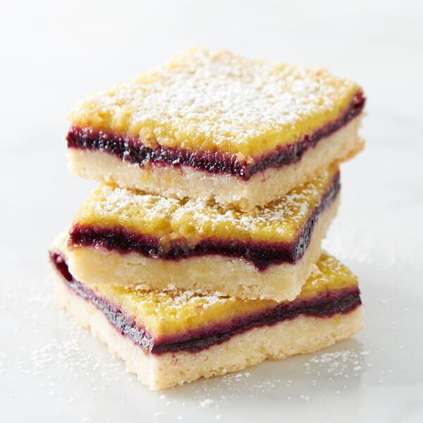 Lemon Berry Bars recipe