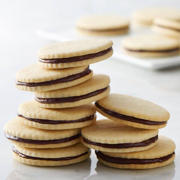 Mascarpone Cookies with Ganache Filling recipe