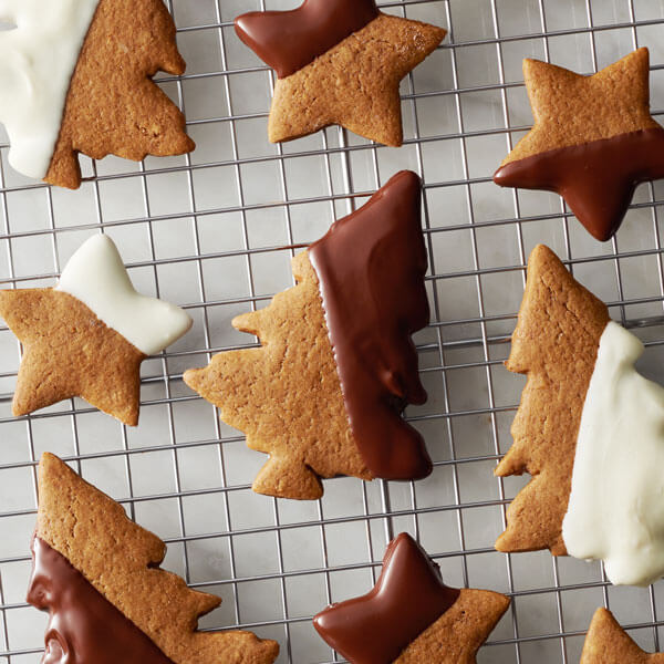 Orange Spice Gingerbread Cookies recipe