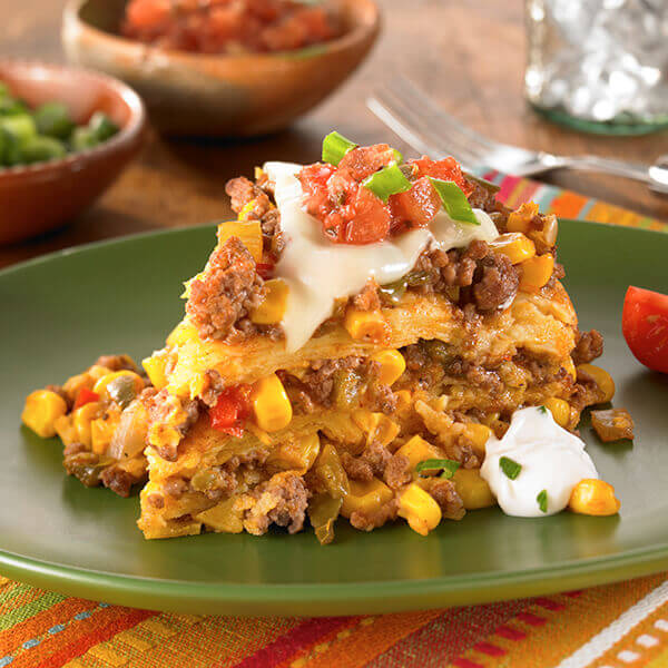 Slow Cooker Beef Tamale Casserole Image
