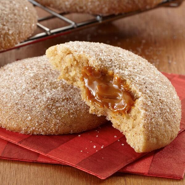 Caramel Thumbprint Cookies Recipe