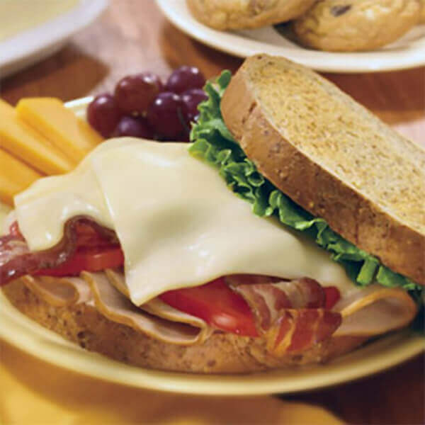 Turkey Bacon Melt Sandwich Image