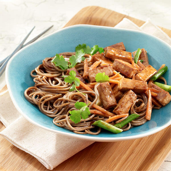 Teriyaki Tofu Noodle Bowl Image