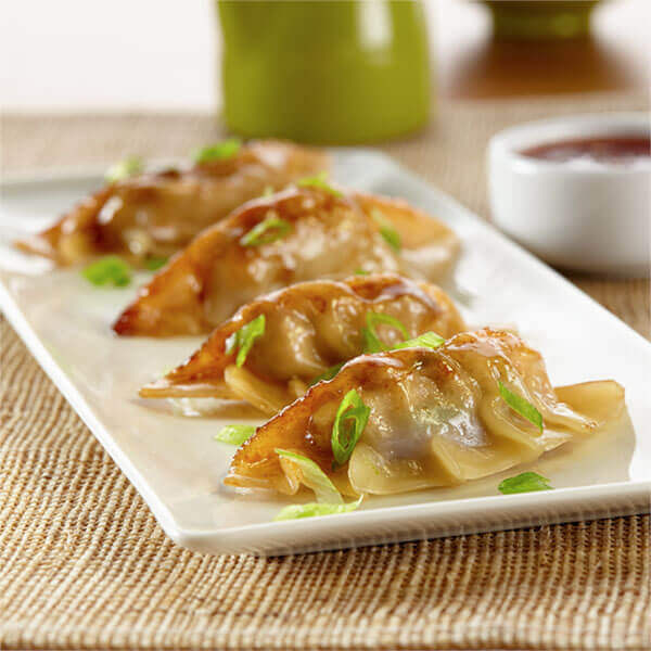 Teriyaki Pot Stickers Image