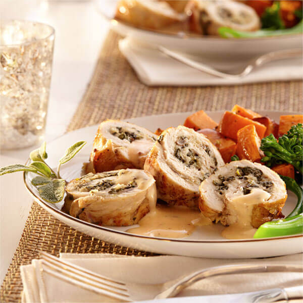 Turkey Tenderloin Roll-ups Image