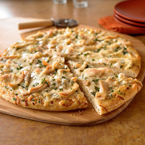 White Chicken Pizza Image