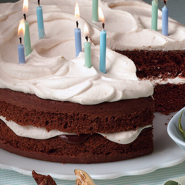 Whipped Cream Frosting & Filling Image