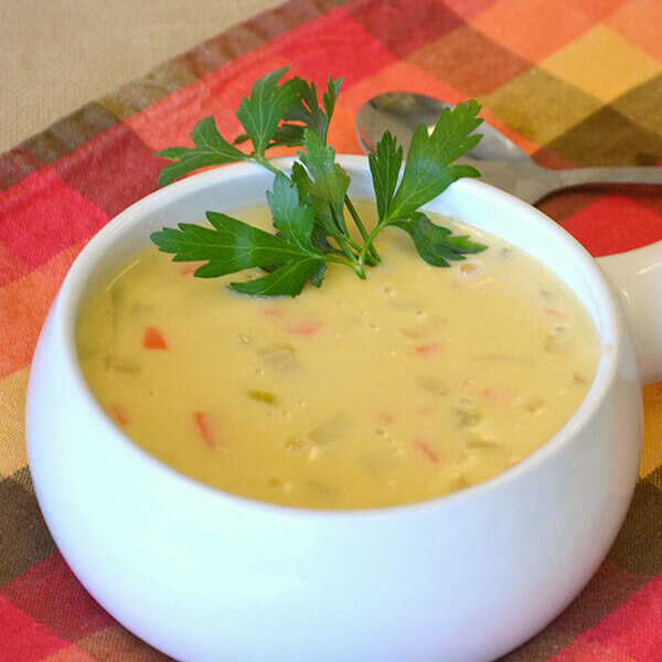 Wisconsin Cheese Soup Image