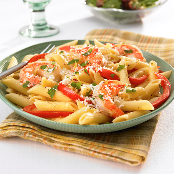 Zesty Lemon Shrimp & Pasta Image