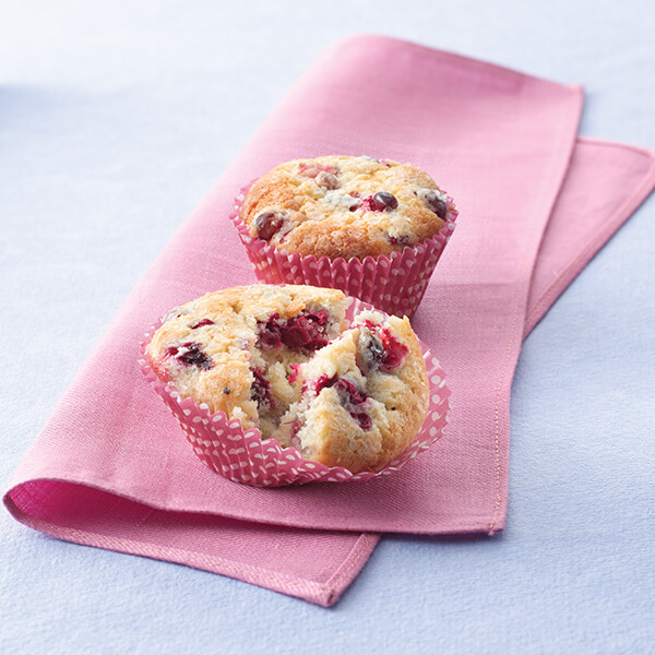 Cranberry Cream Cheese Muffins Image