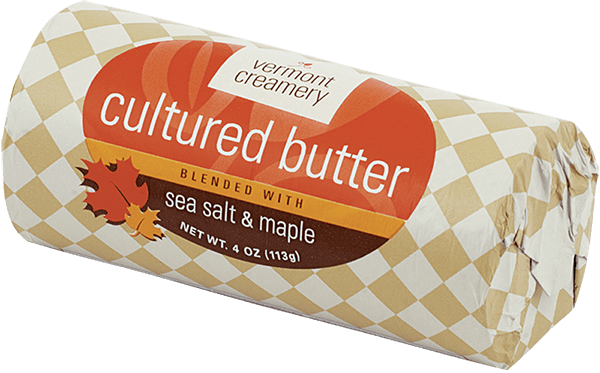 Sea Salt & Maple Cultured Butter